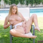 Alexis Adams in 'Poolside Playing'