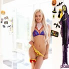 Elsa Jean in 'Halloween: Sharing Her Candy'